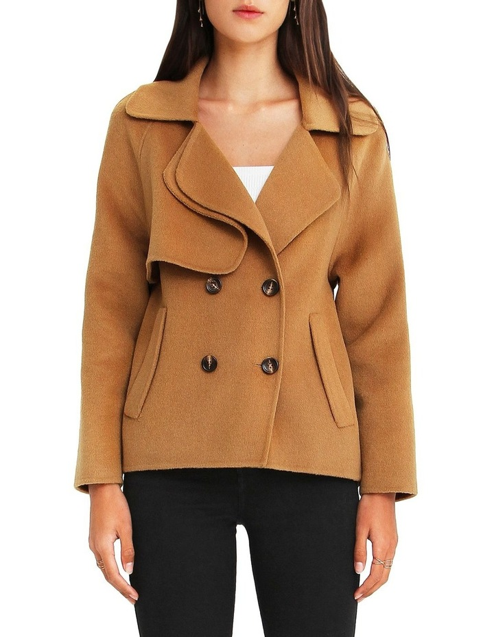 I'm Yours  Camel Wool Blend Peacoat image 1