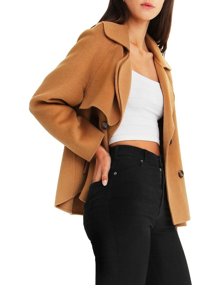 I'm Yours  Camel Wool Blend Peacoat image 2
