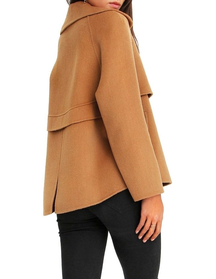 I'm Yours  Camel Wool Blend Peacoat image 3