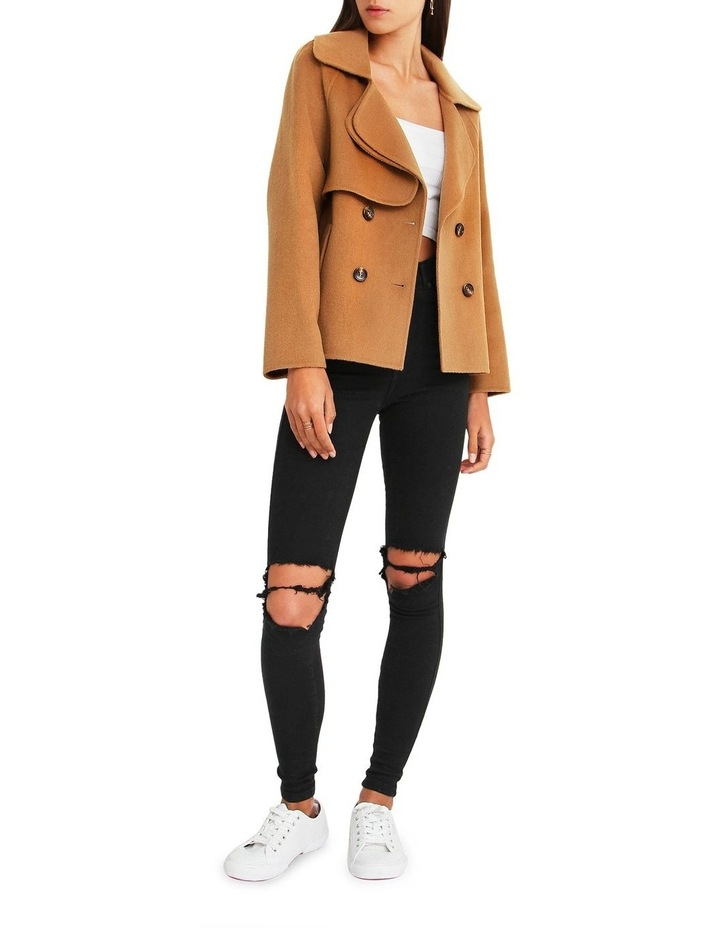 I'm Yours  Camel Wool Blend Peacoat image 5