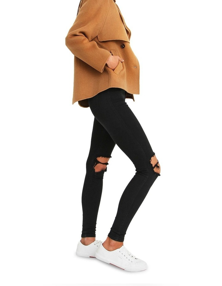 I'm Yours  Camel Wool Blend Peacoat image 6
