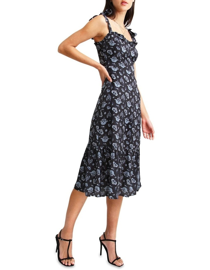 Summer Storm Navy Midi Dress image 2