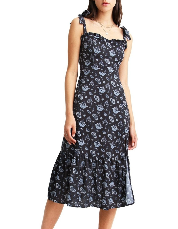 Summer Storm Navy Midi Dress image 4