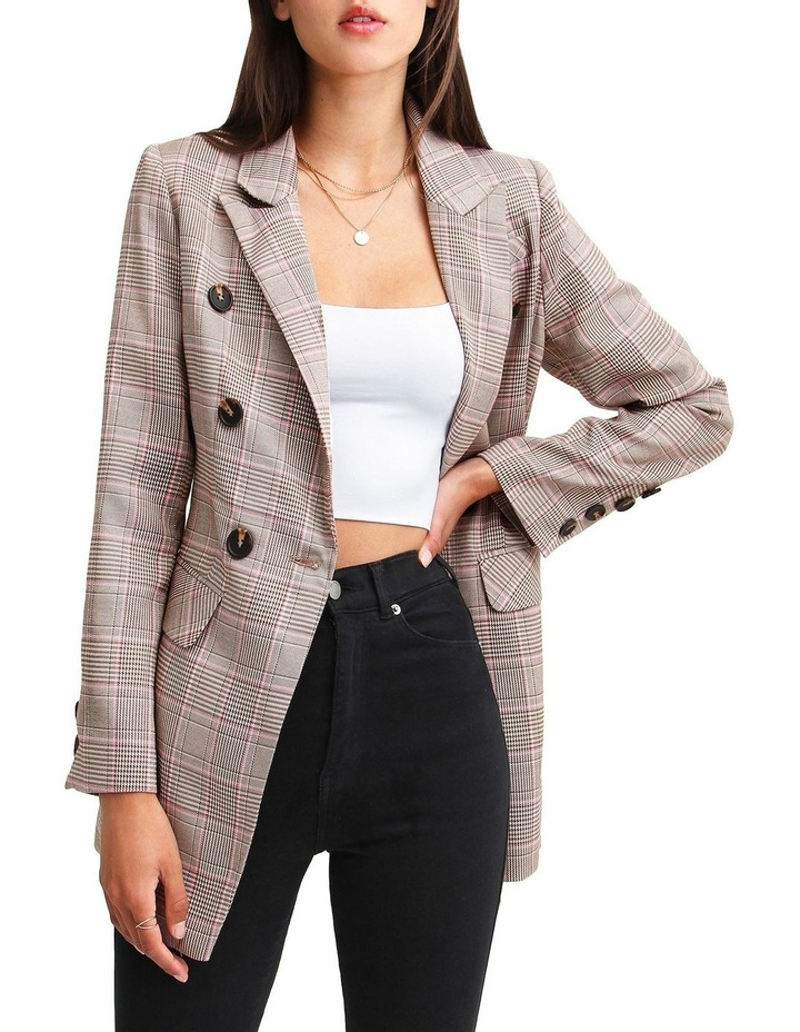 Too Cool For Work Plaid Blazer image 1