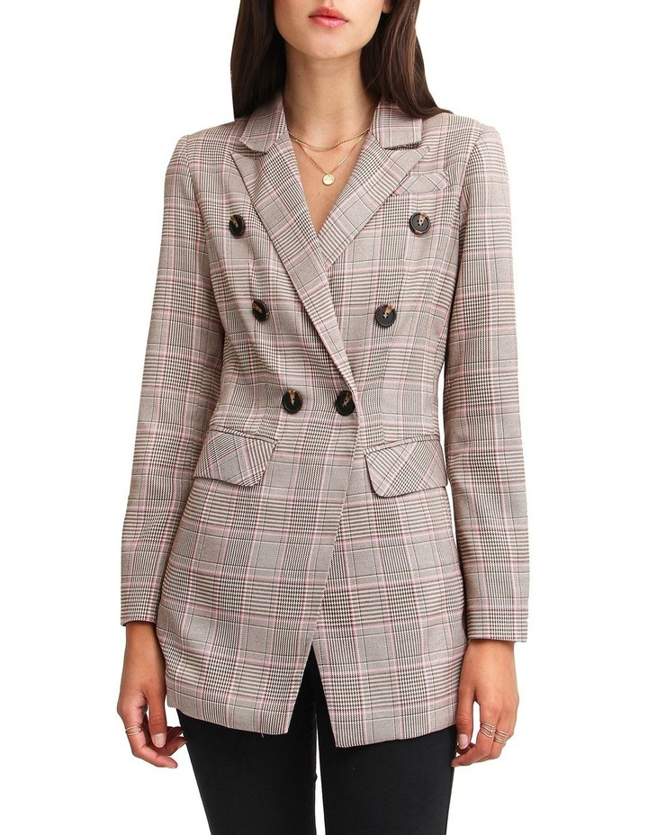 Too Cool For Work Plaid Blazer image 5