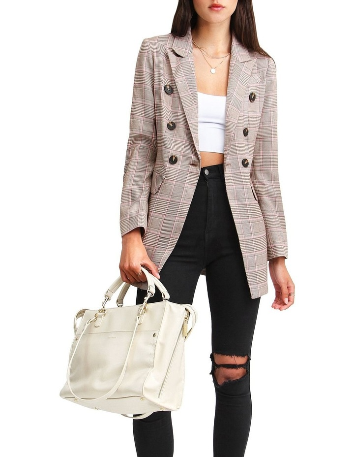 Too Cool For Work Plaid Blazer image 6