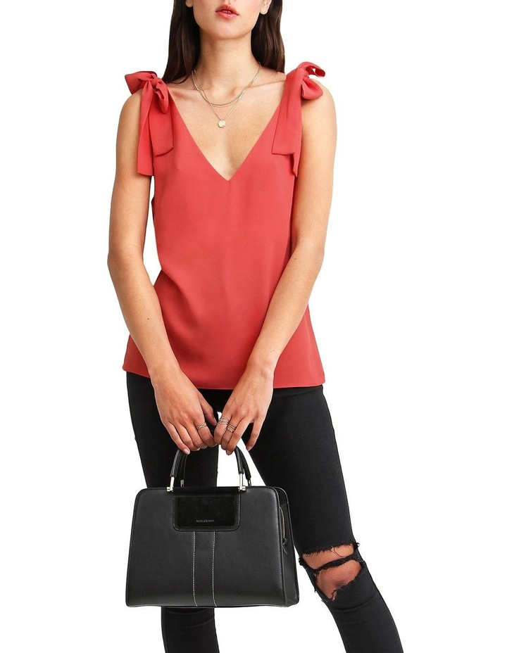 Feel For You Red V-Neck Top image 6