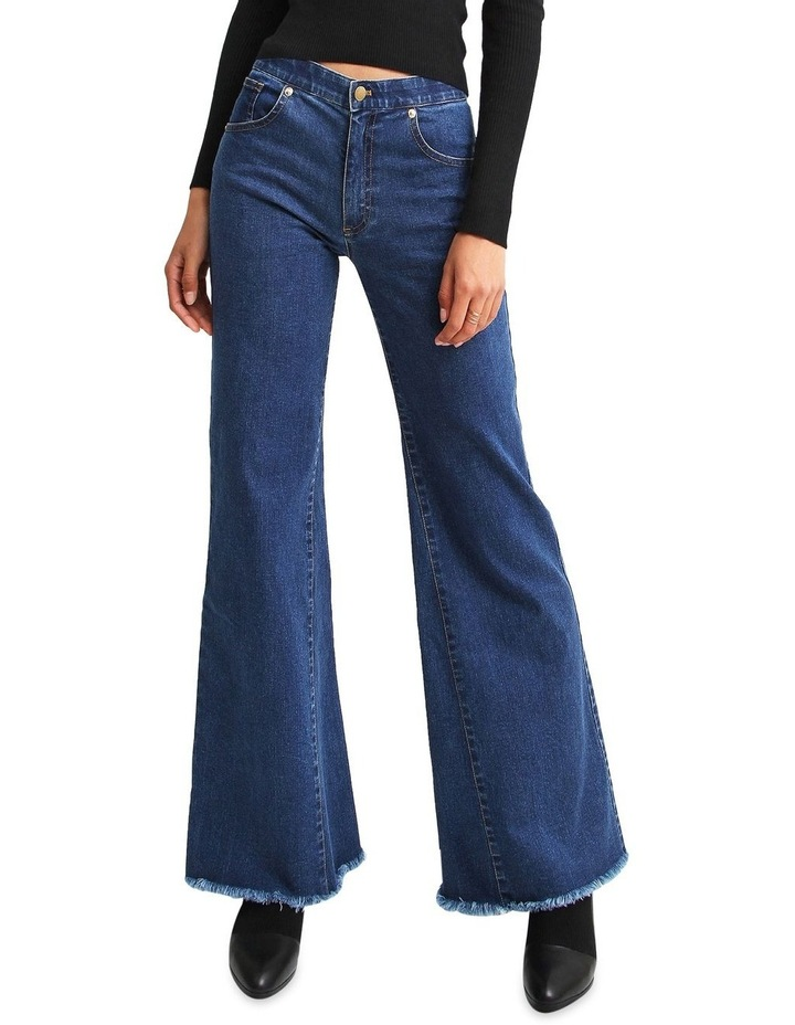 Flare Up Fly Front Jeans image 1