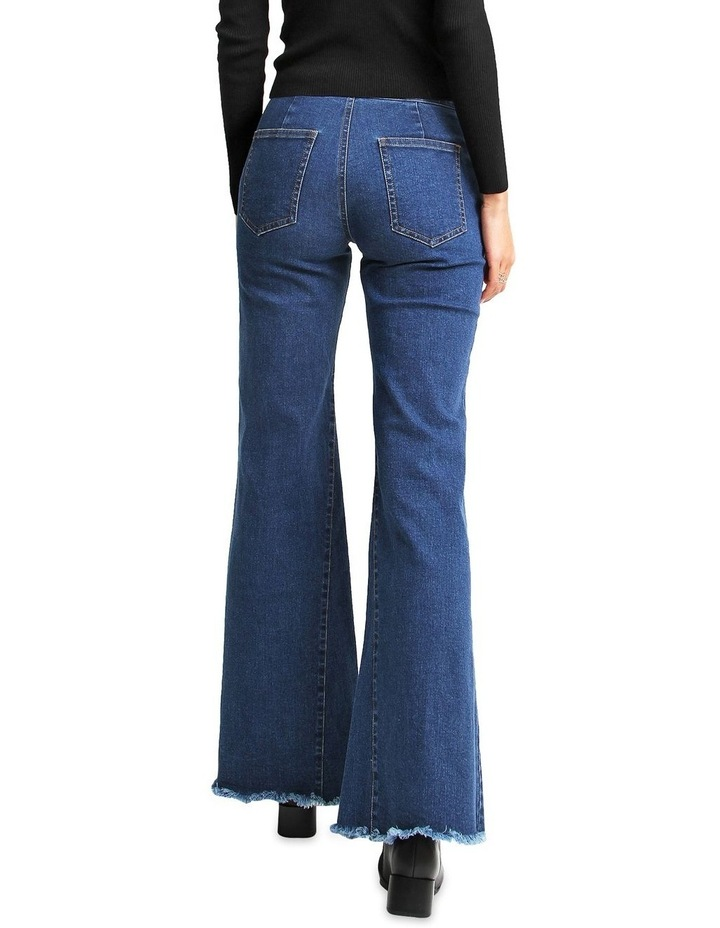 Flare Up Fly Front Jeans image 3