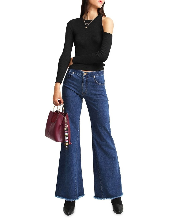 Flare Up Fly Front Jeans image 4