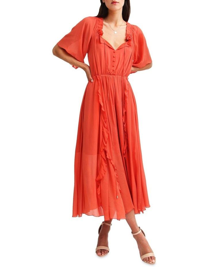 Amour Amour Ruffled Midi Dress image 1