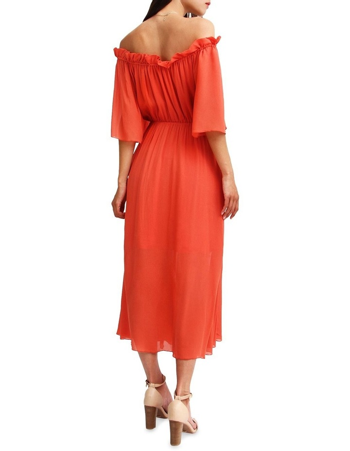 Amour Amour Ruffled Midi Dress image 3