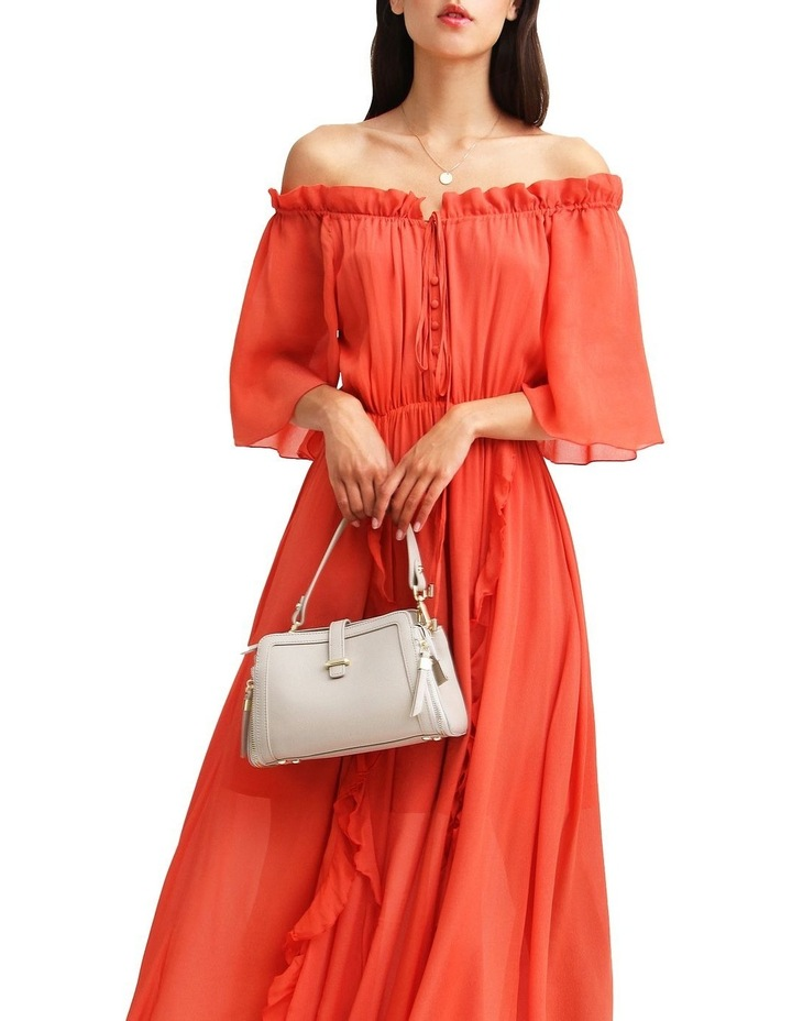Amour Amour Ruffled Midi Dress image 5