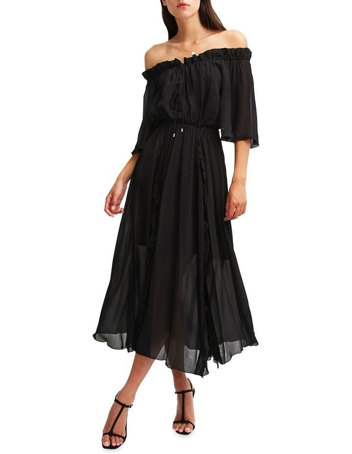 Amour Amour Ruffled Midi Dress image 4