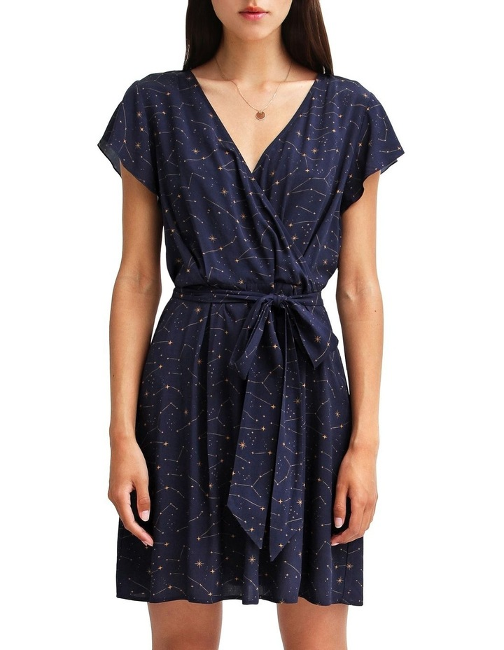 I'm The Star Wrap Dress image 1
