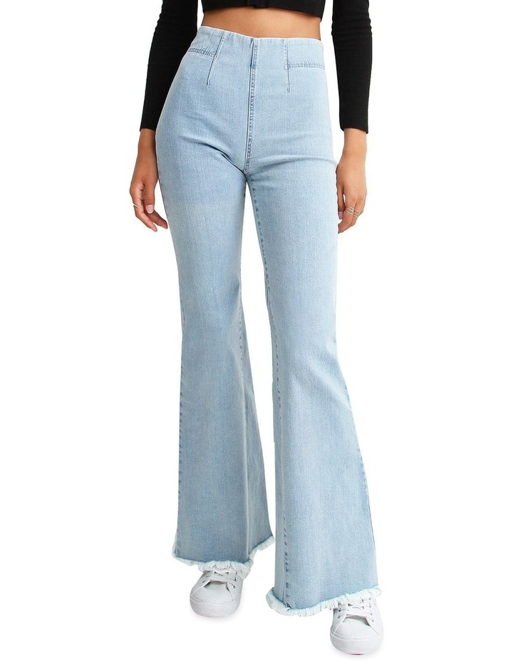 Flare Up Pull On Jeans image 1
