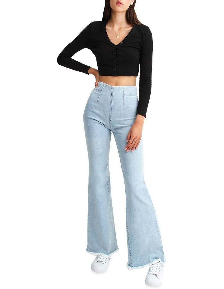 Flare Up Pull On Jeans image 4