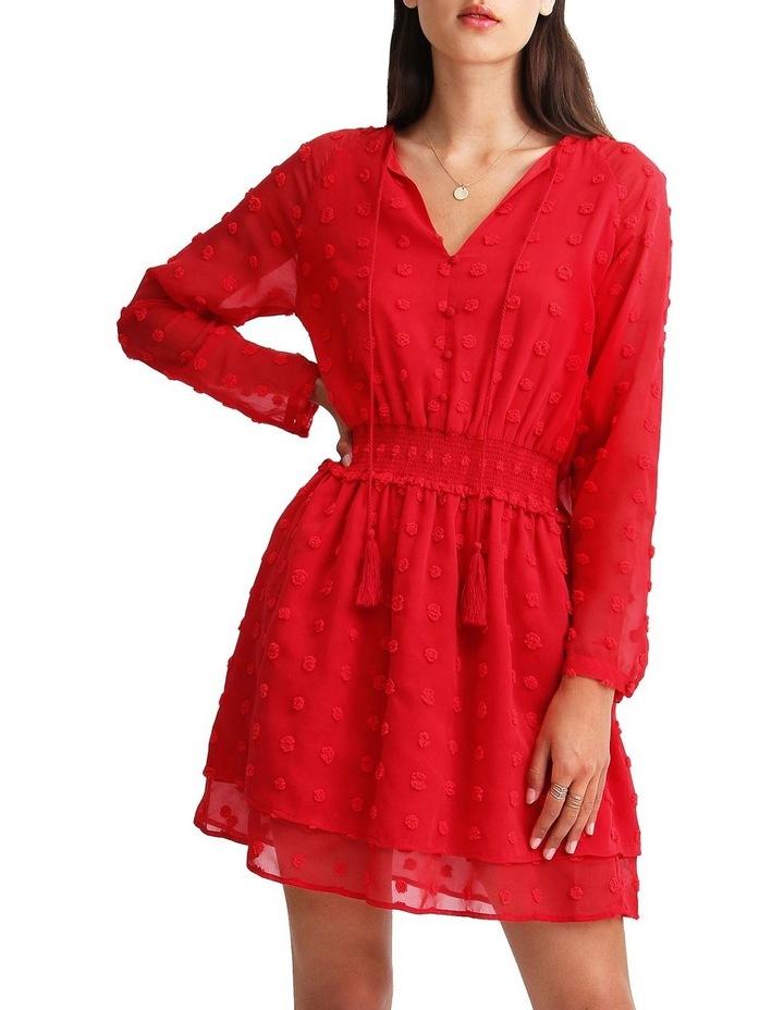 Girl Like You Swiss Dot Mini Dress image 1