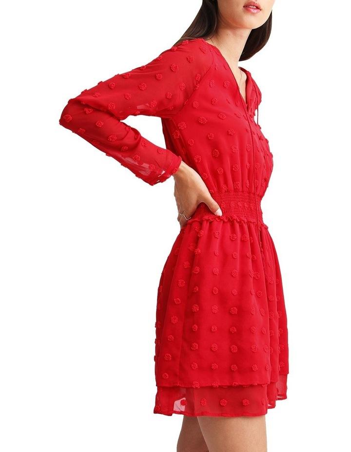Girl Like You Swiss Dot Mini Dress image 2