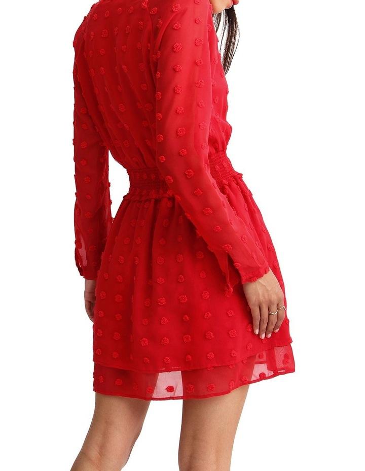 Girl Like You Swiss Dot Mini Dress image 3