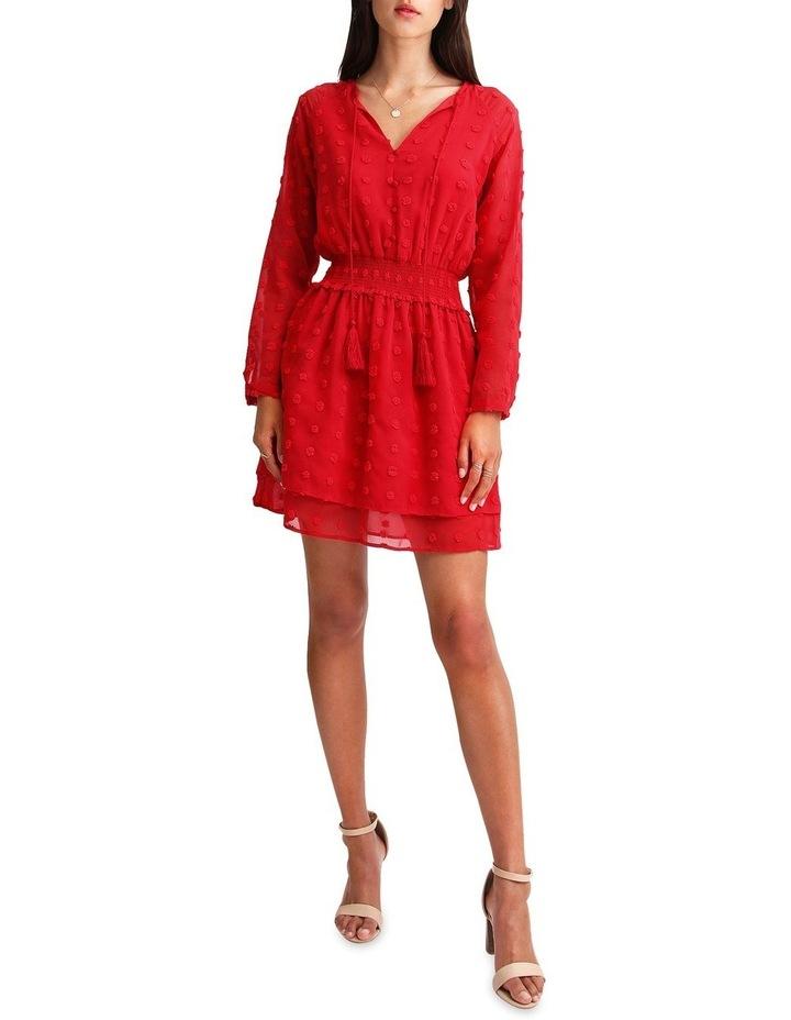 Girl Like You Swiss Dot Mini Dress image 4