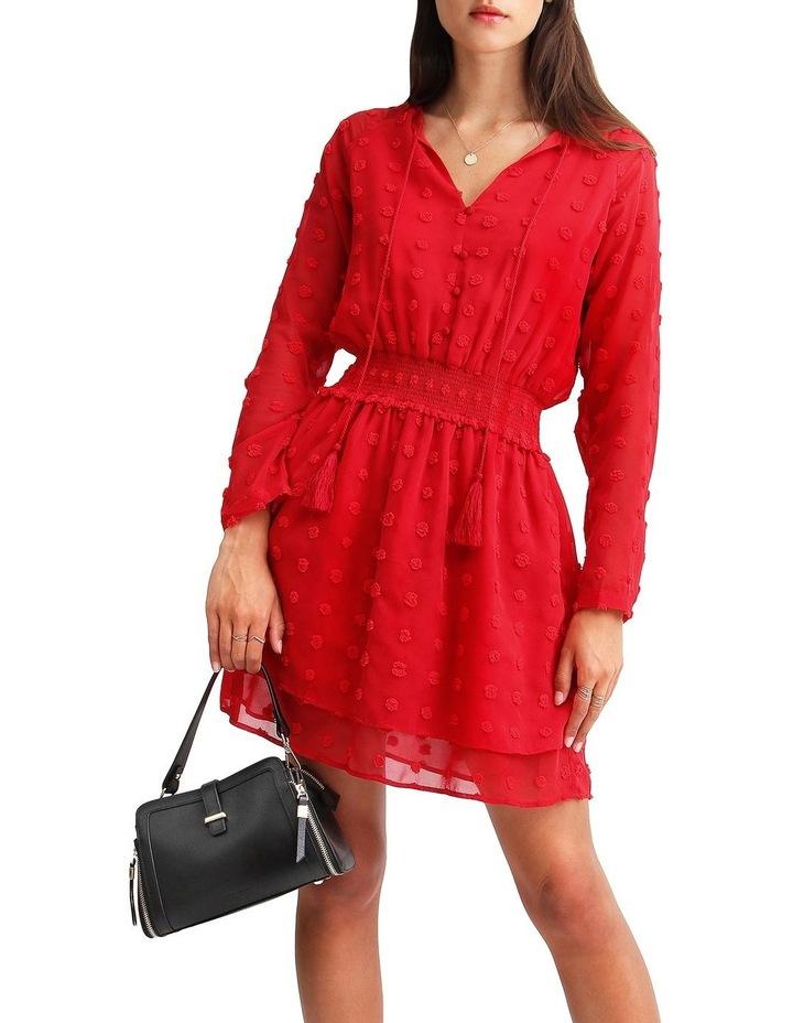Girl Like You Swiss Dot Mini Dress image 5