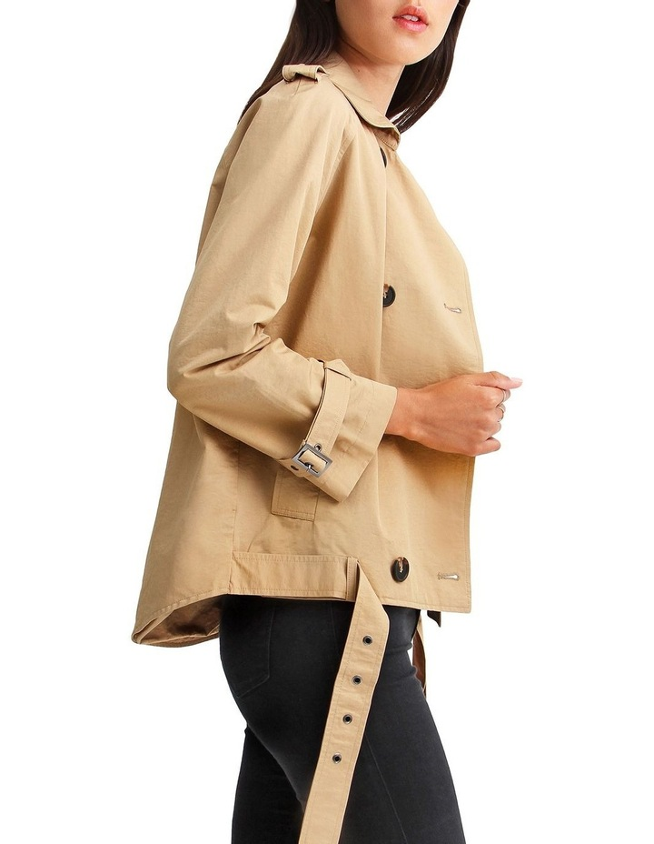 Cool Nights Cropped Trench Coat image 2