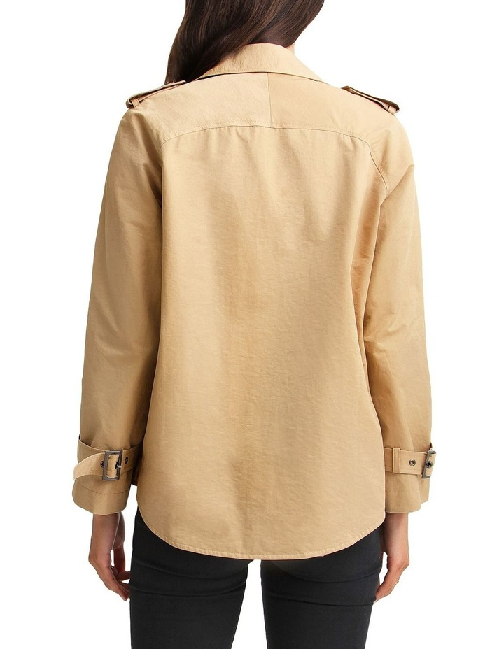 Cool Nights Cropped Trench Coat image 3