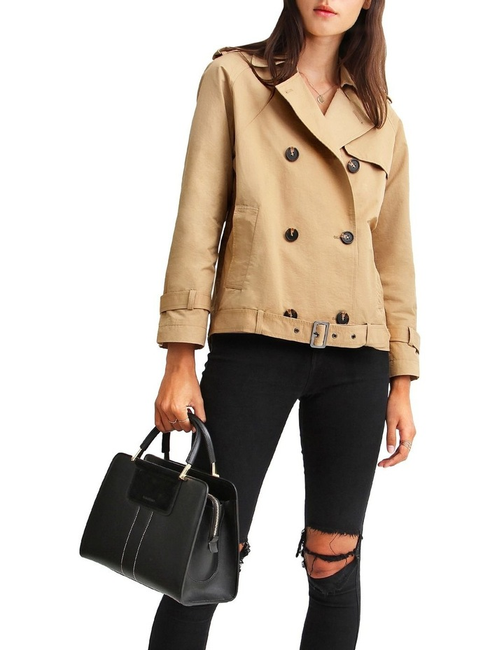 Cool Nights Cropped Trench Coat image 4