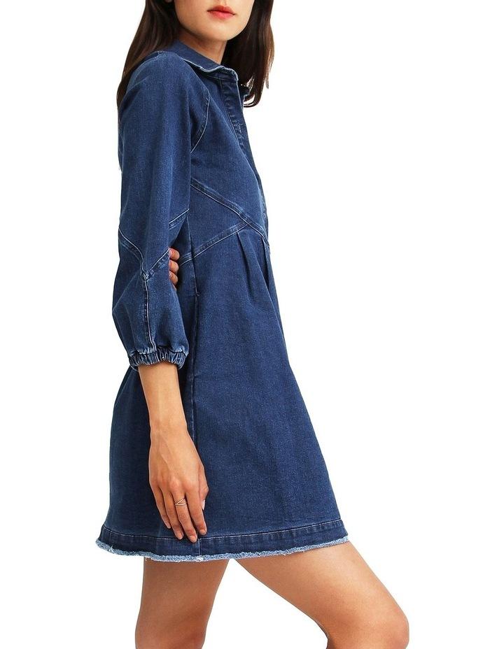 Bright Side Denim Dress image 2
