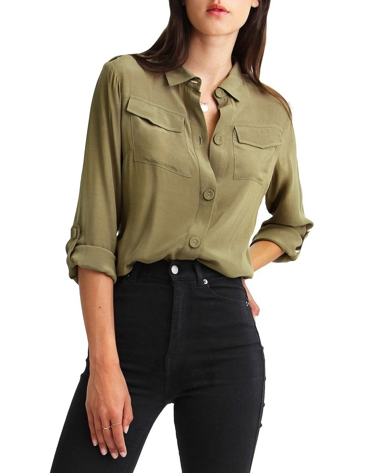Eclipse Rolled Sleeve Blouse image 1
