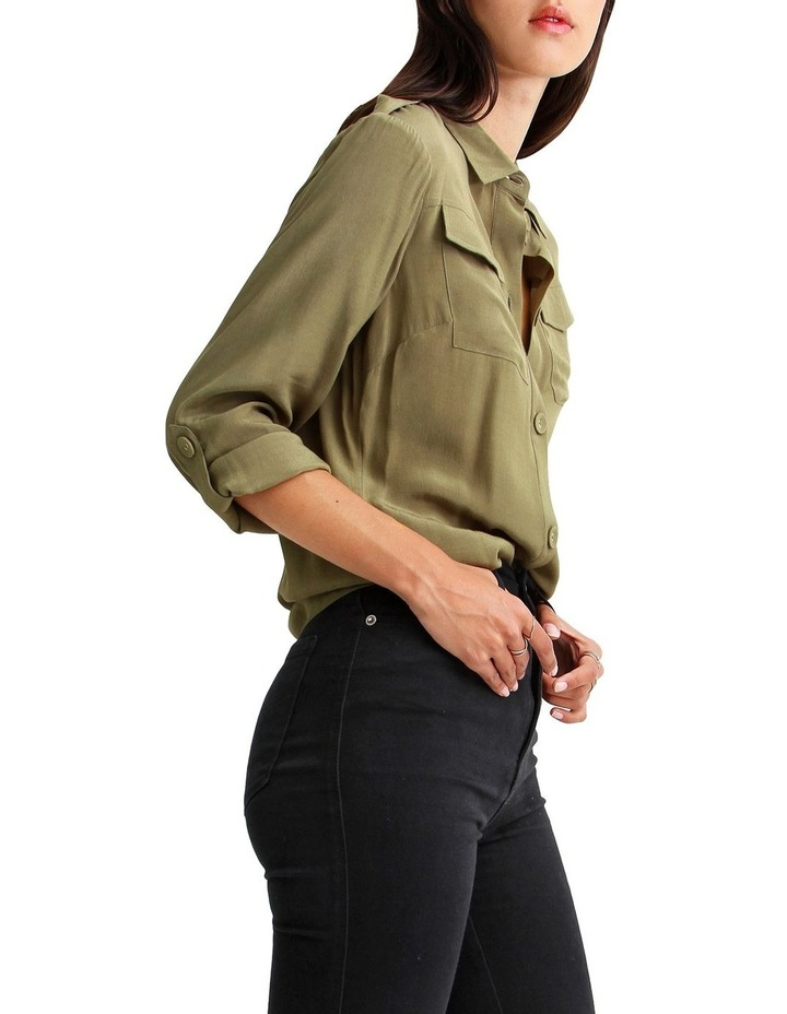 Eclipse Rolled Sleeve Blouse image 2