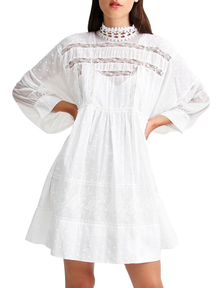 Unforgettable Oversized Lace Mini Dress image 1