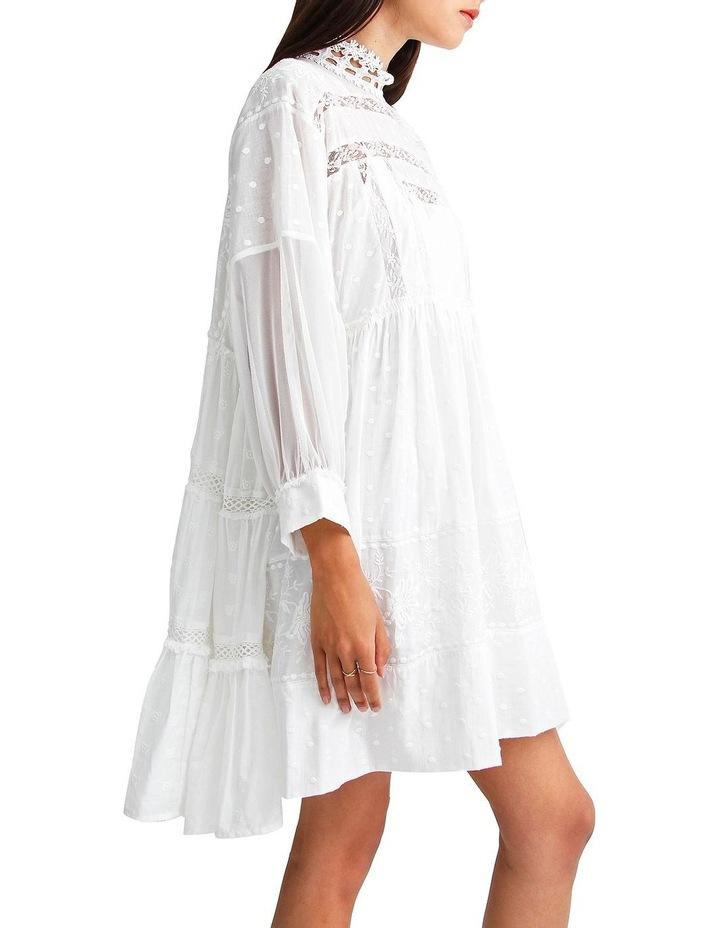 Unforgettable Oversized Lace Mini Dress image 2