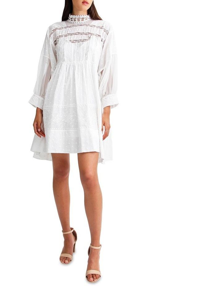 Unforgettable Oversized Lace Mini Dress image 4