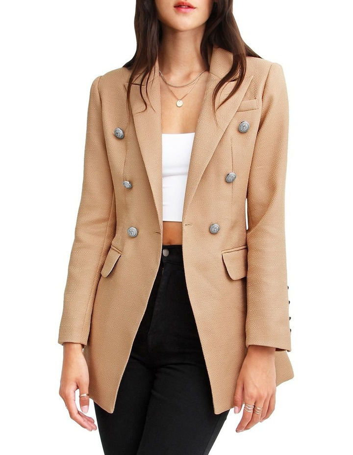 Princess Polly Weave Blazer Textured image 1