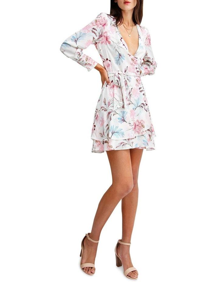 A Night With You Mini Wrap Dress image 4