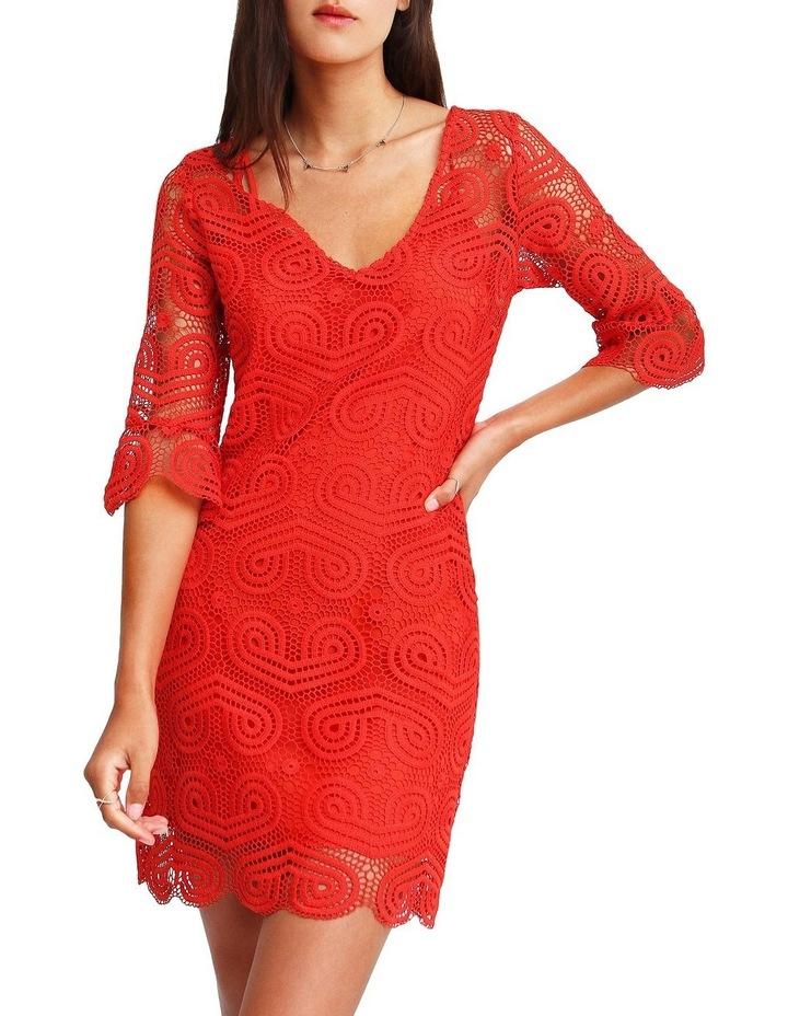 Irresistible Crochet Mini Dress image 1