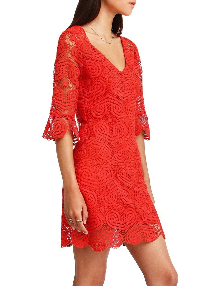 Irresistible Crochet Mini Dress image 2
