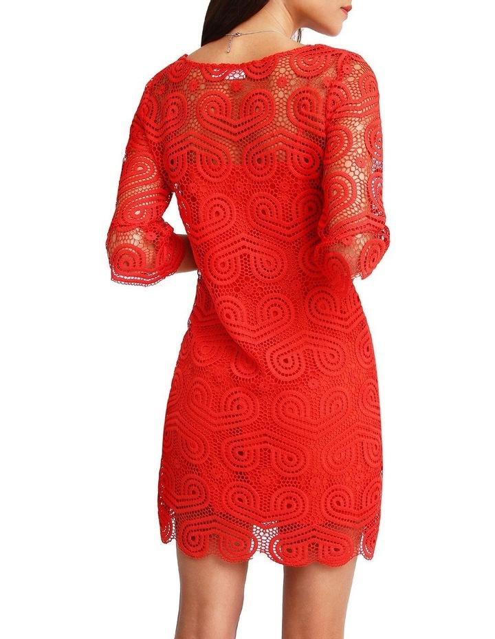Irresistible Crochet Mini Dress image 3