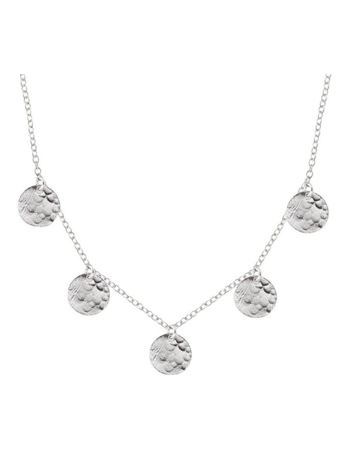 Bon Bon Silver Scattered Jingle Necklace image 1