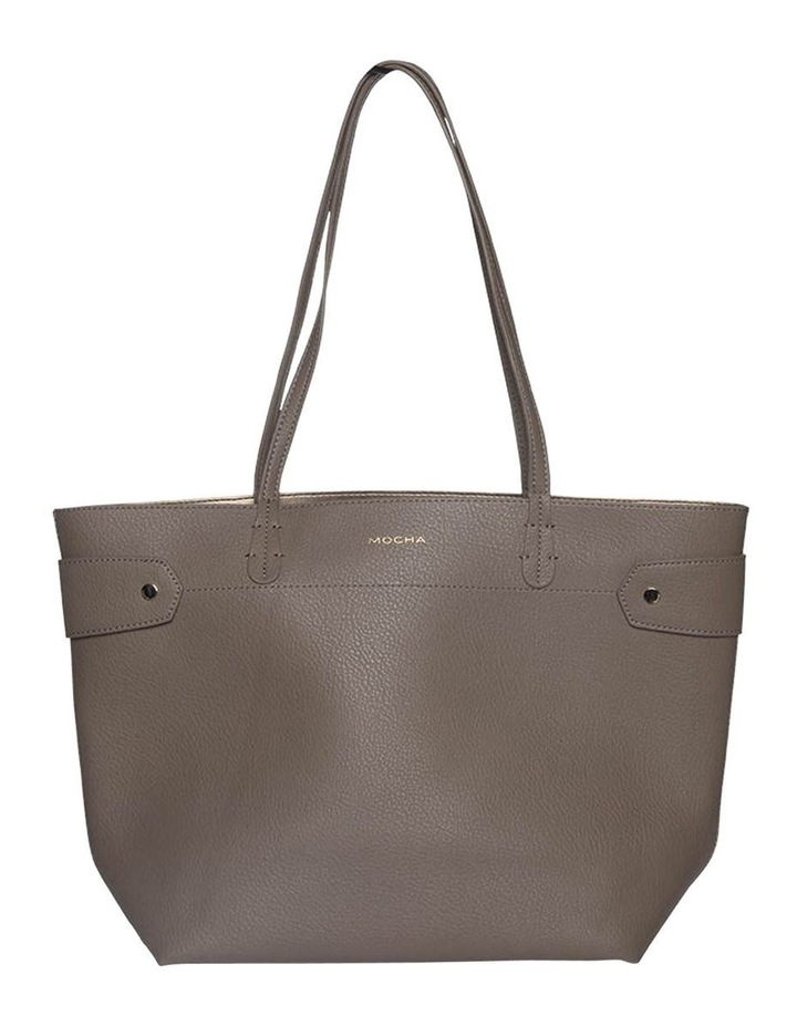 Clip Around Tote Bag - Dark Taupe image 1