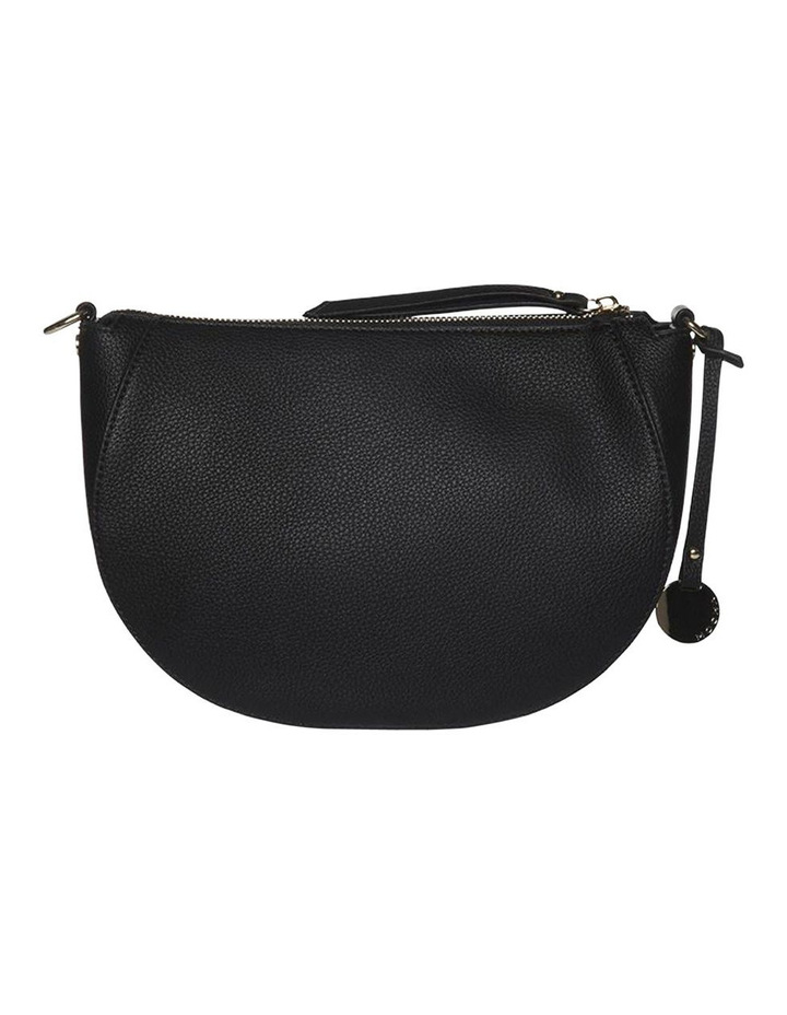 Gabi Half Moon Crossbody Bag - Black image 4