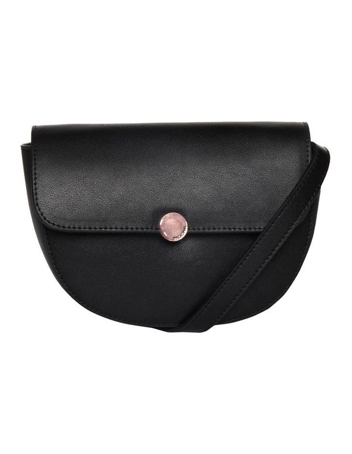Brianna Leather Belt Bag - Black image 1