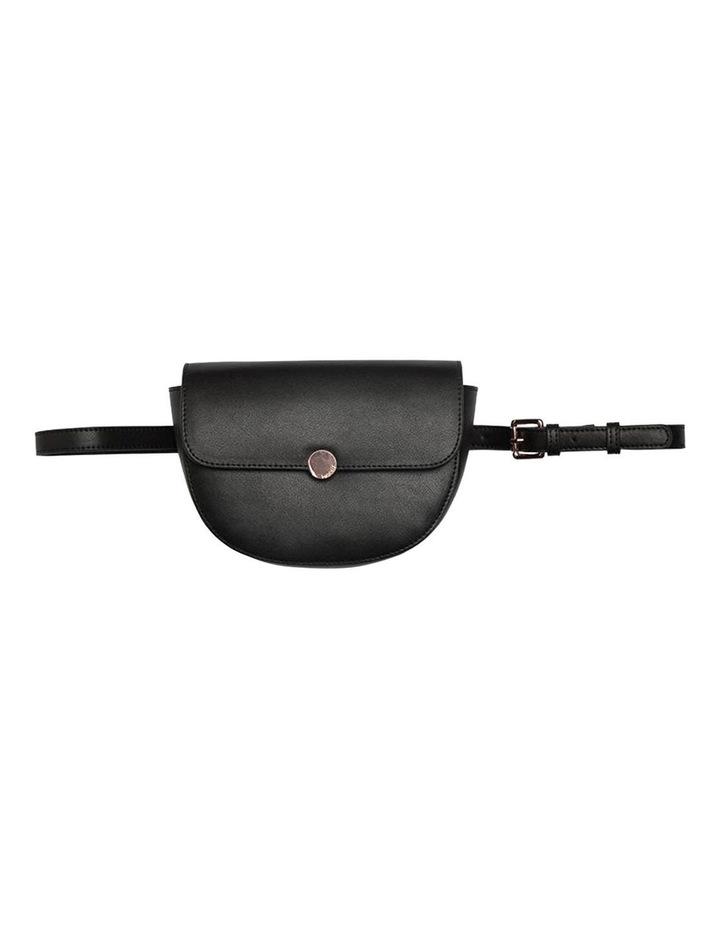 Brianna Leather Belt Bag - Black image 3
