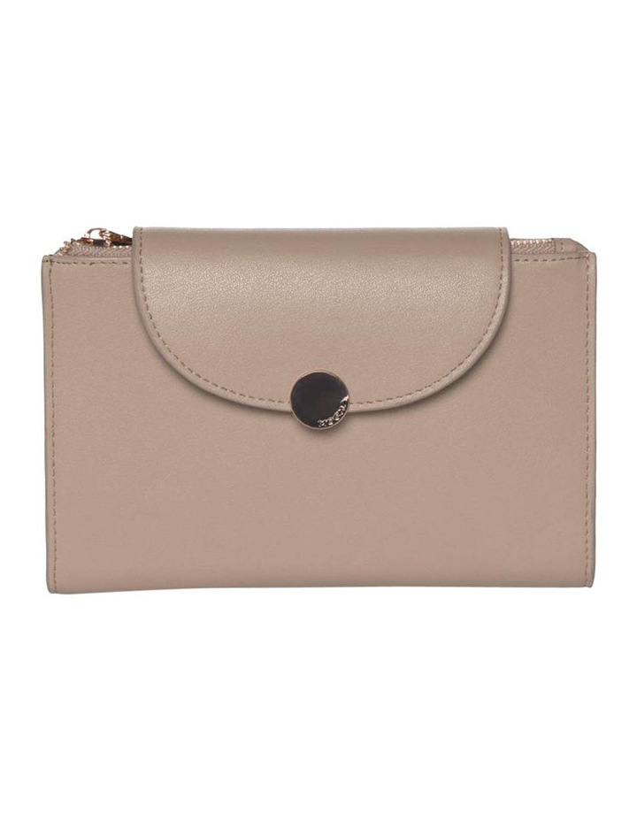Brianna Leather Wallet - Taupe image 1