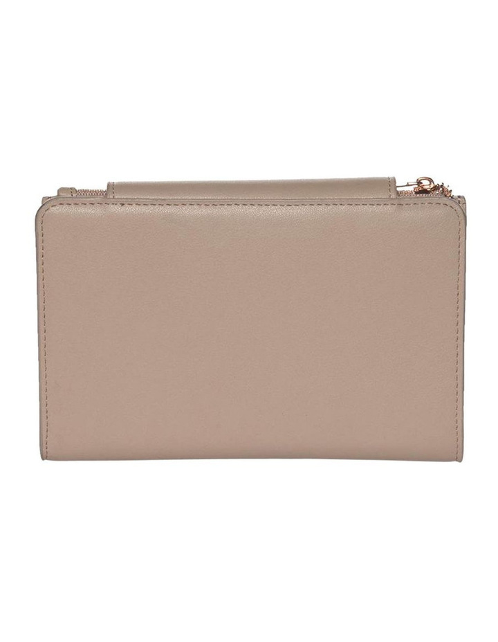 Brianna Leather Wallet - Taupe image 2