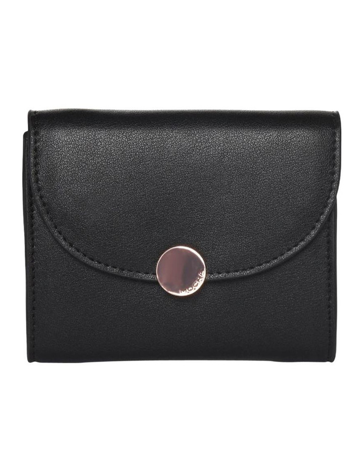 Brianna Leather Coin Wallet - Black image 1