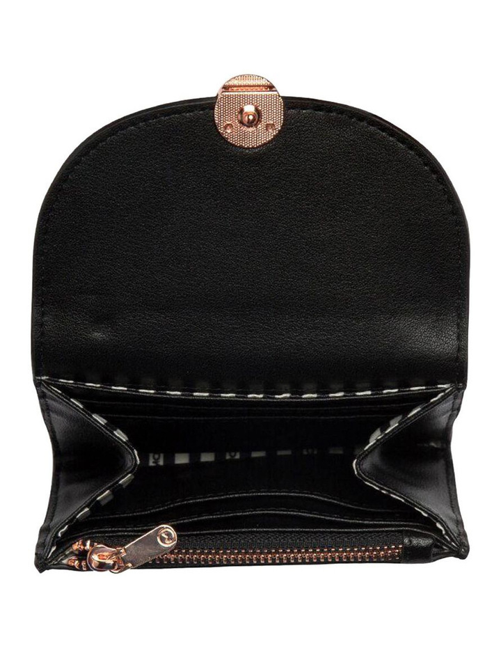 Brianna Leather Coin Wallet - Black image 4