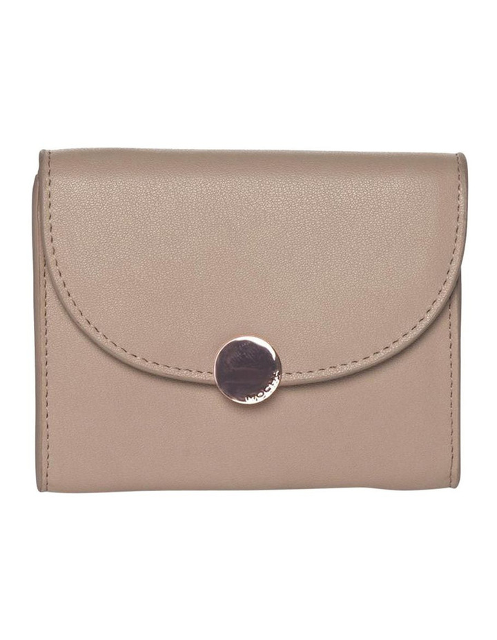 Brianna Leather Coin Wallet - Taupe image 1